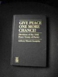 Give Peace One More Chance