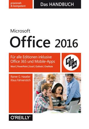 Microsoft Office 2016   Das Handbuch PDF