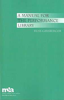 A Manual for the Performance Library PDF