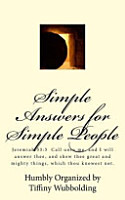 Simple Answers for Simple People PDF