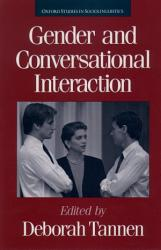 Gender And Conversational Interaction Book PDF