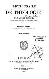 Dictionnaire de théologie