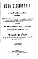 Novo diccionario da lingua portugueza     PDF