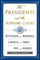 The Presidents and the Supreme Court PDF