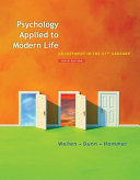 Psychology Applied to Modern Life  Adjustment in the 21st Century PDF