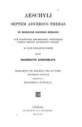 Aeschyli Septem adversus Thebas