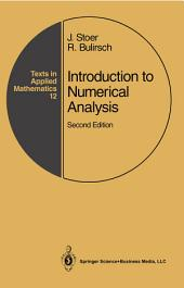 Introduction to Numerical Analysis: Edition 2