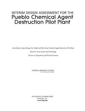 Interim Design Assessment for the Pueblo Chemical Agent Destruction Pilot Plant PDF