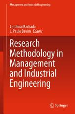 Research Methodology in Management and Industrial Engineering PDF