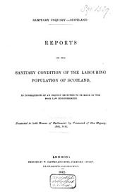 Report on the Sanitary Condition of the Labouring Population Og Great: Britain : Supplementary Report on the Results of Special Inquiry Into the Practice of Interment in Towns, Volume 1