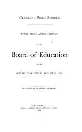 Cleveland Public Schools ...: Annual Report ...