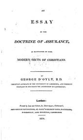 An Essay on the Doctrine of Assurance as Maintained by Some Modern Sects of Christians