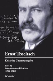 Rezensionen und Kritiken: (1915-1923)