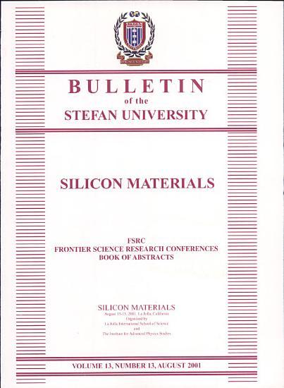 Silicon Materials PDF