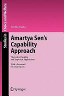 Amartya Sen s Capability Approach PDF