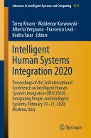 Intelligent Human Systems Integration 2020