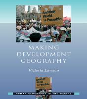 Making Development Geography PDF