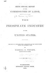 The Phosphate Industry of the United States