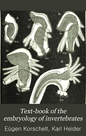 Text-book of the Embryology of Invertebrates: Phoronidea, Bryozoa ectoprocta, Brachiopoda, Entoprocta, Crustacea, Palaeostraca