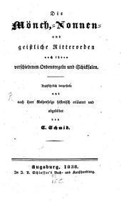 Die Mönch-, Nonnen- und geistliche Ritterorden