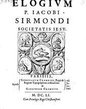 Elogium Jacobi Sirmondi