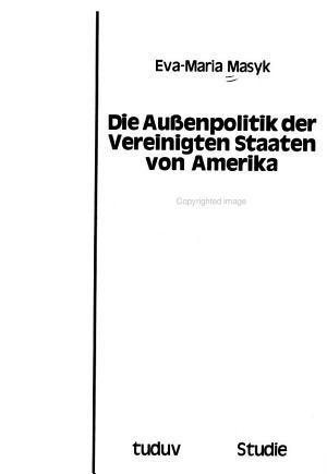 Die Aussenpolitik der Vereinigten Staaten von Amerika gegen  ber ASEAN unter der Reagan Administration PDF