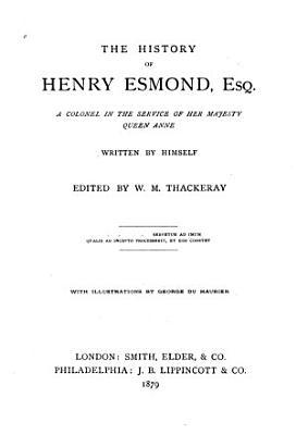 The History of Henry Esmond  Esq PDF