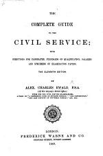 The Complete Guide to the Civil Service. ... Eleventh Edition