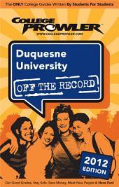 Duquesne University 2012