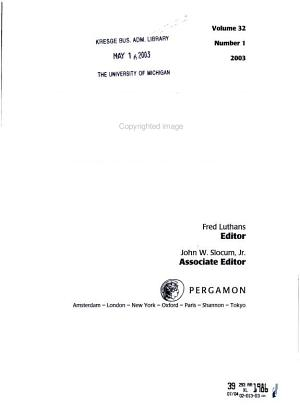 Organizational Dynamics PDF