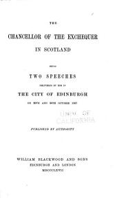 Pamphlets on Scottish History: 1867-1889