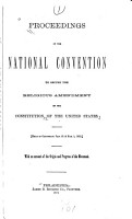 Proceedings of the National Convention to Secure the Religious Amendment of the Constitution of the United States PDF