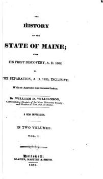 The History of the State of Maine PDF