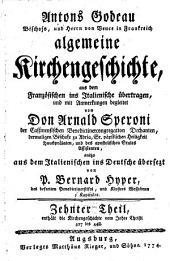 Algemeine Kirchengeschichte: Enthält die Kirchengeschichte vom Jahre Christi 427 bis 448. 10