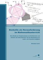 Denkstile als Herausforderung im Mathematikunterricht PDF