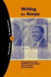 Writing For Kenya Book PDF