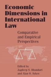 Economic Dimensions in International Law PDF