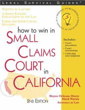 How to Win in Small Claims Court in California