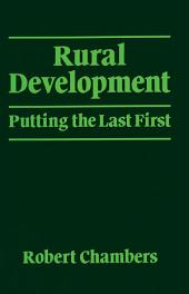 Rural Development: Putting the last first