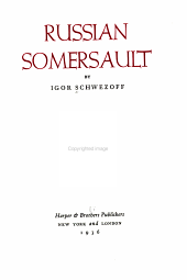 Russian Somersault PDF