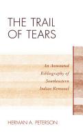 The Trail of Tears PDF