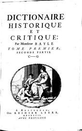 Dictionnaire historique et critique: Volume2