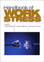 Handbook of Work Stress PDF