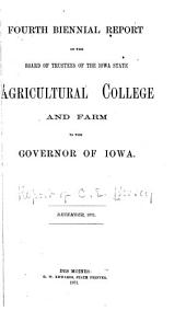 Report of Botany and Horticulture for 1871. [Iowa.]