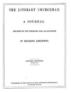 The Literary Churchman PDF