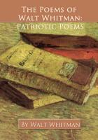 The Poems of Walt Whitman PDF