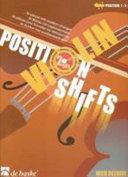 Violin - position shifts