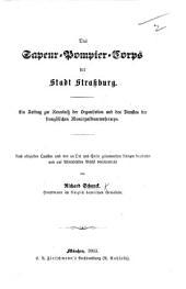 Das Sapeur-Pompier-Corps der Stadt Strassburg, etc