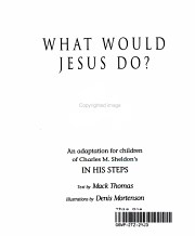 What Would Jesus Do  PDF