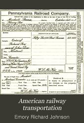 American Railway Transportation